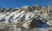One of the many (!!) photos of the Badlands National Park.